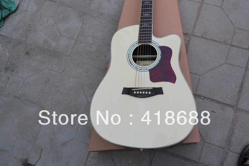 2012 Hot selling 6 Strings Guitar Taylor 310ce Acoustic Guitar Free shipping Veneer guitar(China (Mainland))