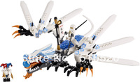 Bela Ninjago Ice Dragon Attack 9729 Building Block Sets 158pcs Ninja 2260 Educational Jigsaw Construction Bricks toys