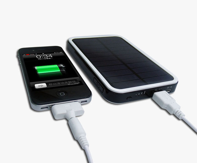 Solar Battery Charger USB 4000mAh for iPod,iPhone,Mobile phone,Camera,Laptop,PSP,MP3(China (Mainland))