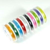 Wholesale 0.6mm Elastic Stretch Cord , stretch & strong,diy jewelry making string,10colors to option,factory price