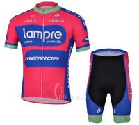 Best selling! 2013 new model Tour de France Pro Team Cycling tops and shorts bicycle / bike /riding /cycling wear Lampre team