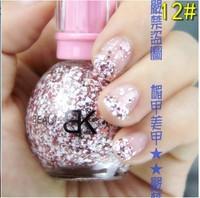 2013 Free shipping New Girls Nail beauty Snow  Nail polish 6pcs/lot