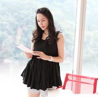 2014 maternity fashion clothing summer  100% cotton doll sleeveless t-shirt + maternity pants for pregnant women