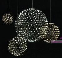 Free Shipping New Product Dia 43CM Moooi Raimond Firework Suspension Stainless Steel LED Pendant Lamp