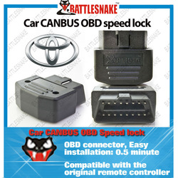 CANBUS OBD car speed lock For TOYOTA Vios,Corrola,RAV4,Crown,Previa,Prado,Camry,ReizHighlander,Yaris,WOXY 70 original cars(China (Mainland))