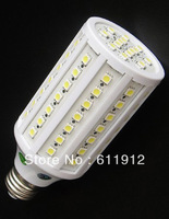 ultra led corn light 15w high power led bulb SMD5050 84pcs Led 1200 lm 2 years warranty 10pcs/lot  E27/E26/B22/E14 free shipping