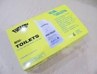 Free shipping 6pcs/box Portable urine bag for Car Caravan Urinal Toilet Camping Travel,Fantastic mini-toilet