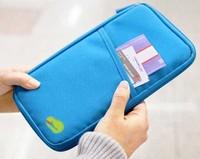 Free shipping 10pcs/lot Multifunctional cash , Travel Passport holder , pocket size wallet & purse card case bag