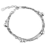 Boys chain classic 925 vintage silver bracelet women's bracelet silver jewelry heterochrosis