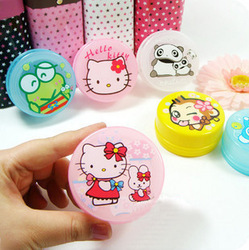(Min order is $10) E9018 at home hot-selling cartoon retractable cup folding cup portable glass(China (Mainland))