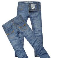 2013 summer SEMIR men's clothing trend men's slim straight jeans male thin