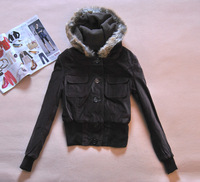 Women's winter elegant short design thermal wadded jacket cotton-padded jacket 1.1