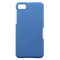 Wholesale!2013 NEW Arrival!! Business High Quality Hybrid Plastic Hard Case Cover for BlackBerry Z10 Blue 50pcs/lot