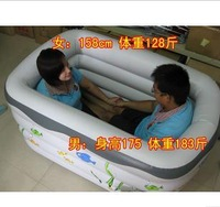 Yingtai rectangle inflatable bathtub adult child general swimming pool inflatable pump