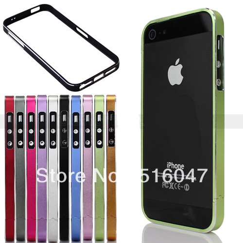 Blade Metal Element Aluminium Bumper Protector For iPhone 5 5G Hard Case Cover(China (Mainland))