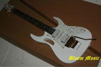 White IBZ Electric Guitar flyod rose tremolo bridge Free Shipping