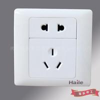 Haile split five-hole socket, 23-pole socket panel