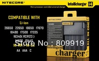 Nitecore i4 Intellicharge Universal Battery Charger  Li-ion 26650 18650 17670 16340(RCR123), 14500, 10440 Ni-MH, Ni-Cd AA  AAA C