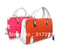 New Fashion Woman European Stereotypes PU Leather Handbag Shoulder Messenger Bag BB038