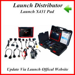 2013 New arrival auto scanner x431 pad update via launch offical website with high quality and best price(China (Mainland))