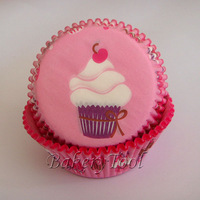 Free shipping 300 pcs pink liner with white cream cake paper cupcakes paper cases cake stands form for baking