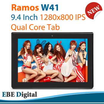 9.4inch Ramos W41 tablet QuadCore 1280x800 IPS Screen RAM 1GB ROM 16GB WIFI OTG