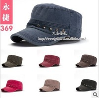 free shipping Coating the new rivet flat hat cap wholesale men's cap wholesale outdoor hat