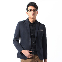 FREE SHIPPING 2013 spring fashionable casual male slim blazer men's clothing civies suit jacket e013
