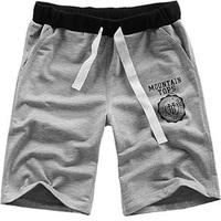 2013 summer beach pants male casual sports capris plus size plus size shorts male