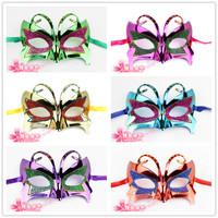 free shipping 10pcs/lot Ball halloweenish small butterfly mask women's mask