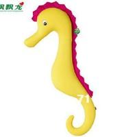 yellow Sea Horses big Pillow Long Microbead Pillow Boyfriend Cushion Polystyrene Microbead Toy Cushion 1.1cm Free Shipping