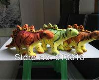 Free Shipping Wholesale 21Pcs/Lot Stegosaurus Jurassic Dinosaur Children's Educational Toys Plush Toy Stuffed Animals Doll Model
