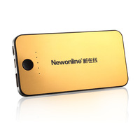 6000 large capacity mobile power millet 2 mobile phone rechargeable battery 4s-12 gold