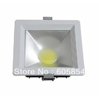 2013 new type! 8inch square series cob led downlight 30W square led ceiling lamp 3years warranty