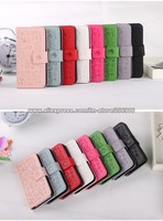 Colors Cute Faerie Leather Wallet Case Cover Skin for iphone 5 case