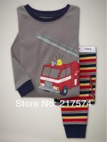 Hot Free Shipping Cartoon Pajama set  Wholesale 6sets/lot Baby Sleepwear Shirts  pants /long sleeve Underwears sets 6sizes 7005