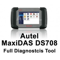 100% Original udpated via official internet Car diagnostic tool DS 708 scanner Autel MaxiDAS DS708--(2)