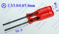 Y Screwdriver for game, Triwing Triangle Screwdriver For Wii NDS NDSL GBA SP Reapir Tool, Reapirment 500pcs/lot