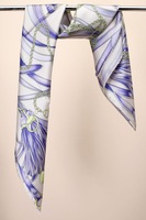 2013 spring and summer mulberry silk bocoos light purple large facecloth silk scarf
