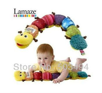 Lamaze Musical Inchworm Stuffed Plush Baby Toys Educational Children Toy 60CM / 24 Inch Retail Free Shipping