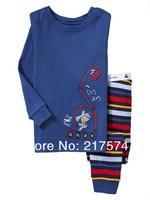 Hot Free Shipping Thomas Pajama set  Wholesale 6sets/lot Baby Sleepwear Shirts  pants /long sleeve Underwears sets 6sizes 7278