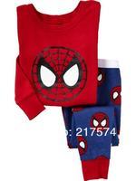 Hot Free Shipping Cartoon Pajama set  Wholesale 6sets/lot Baby Sleepwear Shirts  pants /long sleeve Underwears sets 6sizes 72-8