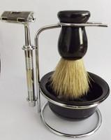 Free shipping Male manual razor set badger shaving brush 3 blade  The culture of China