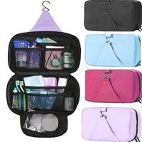 freight free outdoor travel bag hanging wash bag waterproof storage bag in bag