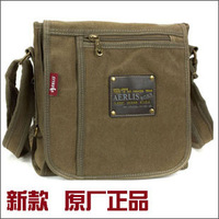 free shipping 2014 new vintage outdoor fashion leisure bags canvas shoulder bag sports men messenger bag  for school