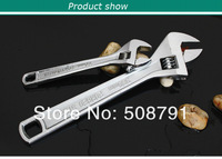 Wholesale Top Quality Adjustable Wrench Spanner 200mm Wrench Tool Set 2013Free Shipping