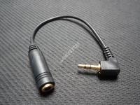 Free shipping earphone converter,200pcs/lot Wholesale EC-00-020 Brand New 2.5mm to 3.5mm earphone adapter,3.5 mm jack