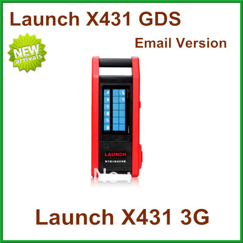 2013 Launch New design Launch X431 GDS Scanner Email Version Multi-function Launch X431 3G super Function X-431 GDS(China (Mainland))