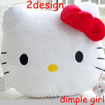 easter sanrio animal red pink bow plush hello kitty pillow sofa cushion doll wedding gifts girlfriend car accessories aliexpress