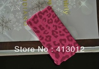 Vertical Leopard grain Typical PU Leather case full body case cover pouch for Samsung Galaxy I9100 S2 SII I9100C10